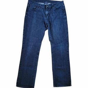 Levi's 552 Midrise Straight Leg Blue Jeans Sz 6 S